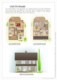 kezarhomes USA Fit prefab home kit