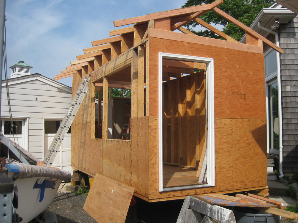 The angelo affordable open plan small footprint for Passive solar prefab homes